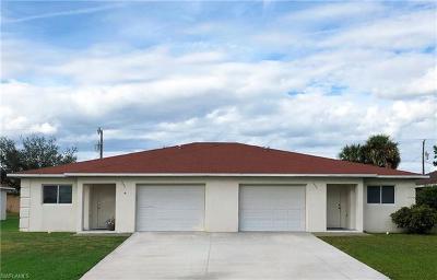 Cape Coral Multi Family Home For Sale: 1233 SE 8th Ter