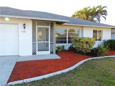Cape Coral Single Family Home For Sale: 1432 SE 11th Pl