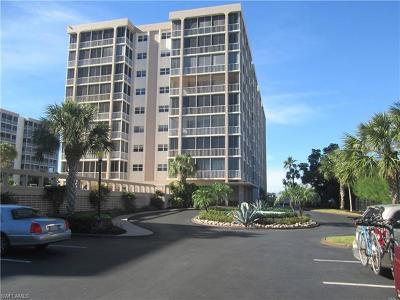 Fort Myers Beach Condo/Townhouse For Sale: 7146 Estero Blvd #816