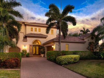 Cape Coral, Fort Myers Single Family Home For Sale: 5709 Harbour Preserve Cir