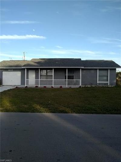 Cape Coral Single Family Home For Sale: 4619 SW 6th Pl