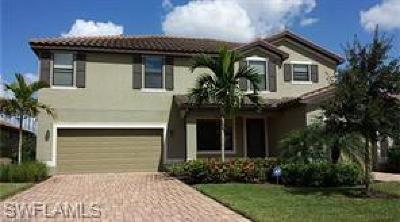 Estero Single Family Home For Sale: 20473 Black Tree Ln