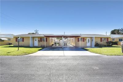 Lehigh Acres Condo/Townhouse For Sale: 2210 Orchid Rd