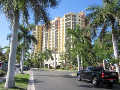 Cape Coral Condo/Townhouse For Sale: 5781 Cape Harbour Dr #504