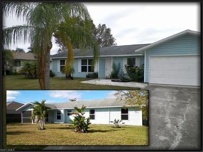 Cape Coral Single Family Home Pending With Contingencies: 222 SW 34th Ter