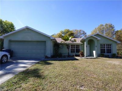 Lehigh Acres Single Family Home For Sale: 1007 Abbott Ave