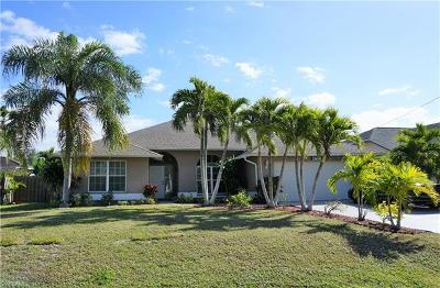Cape Coral Single Family Home For Sale: 4721 SW 24th Ave