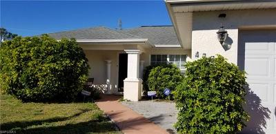 Lehigh Acres Single Family Home For Sale: 4702 5th St W