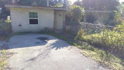 North Fort Myers Single Family Home For Sale: 2764 Garden St