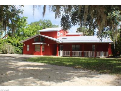 Single Family Home For Sale: 2530 Fort Denaud Rd