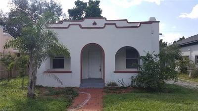 Fort Myers Single Family Home For Sale: 2918 Nelson St