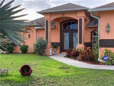 Lehigh Acres Single Family Home For Sale: 312 Ranier Ave