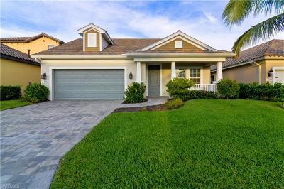 Fort Myers Single Family Home For Sale: 7755 Cypress Walk Dr