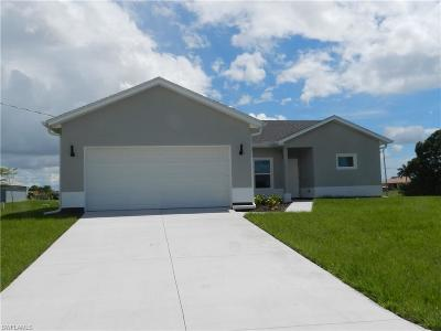 Cape Coral Single Family Home For Sale: 1910 NW 20th Ter