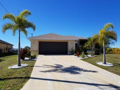 Cape Coral Single Family Home For Sale: 124 NW 35th Pl
