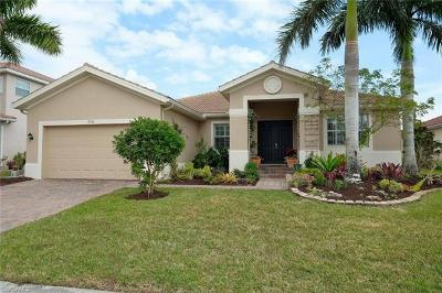 Fort Myers Single Family Home For Sale: 17136 Wrigley Cir