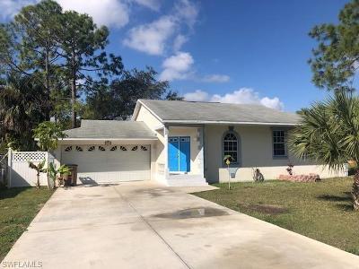 Lehigh Acres Single Family Home For Sale: 311 Connecticut Rd