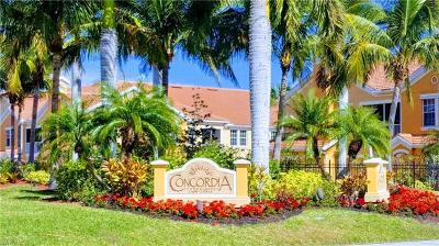 Cape Coral Condo/Townhouse For Sale: 1872 Concordia Lake Cir #204