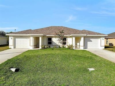 Cape Coral Multi Family Home For Sale: 519/521 SE 4th Ter