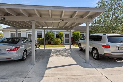 Fort Myers Condo/Townhouse For Sale: 6803 Bogey Dr