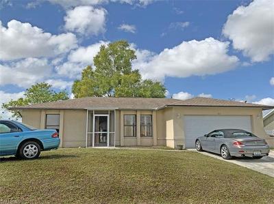 Cape Coral Single Family Home For Sale: 106 NE 5th Pl