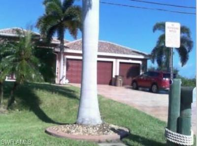 Cape Coral Single Family Home For Sale: 3214 SW 11th Pl