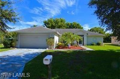 Fort Myers Single Family Home For Sale: 15579 Spring Line Ln