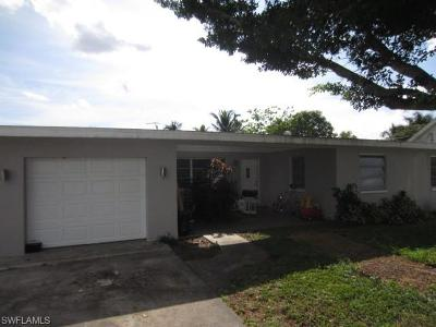 Fort Myers Single Family Home For Sale: 1020 Ione Dr