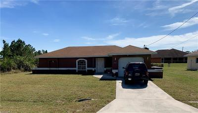 Lehigh Acres Single Family Home For Sale: 3505 34th St SW