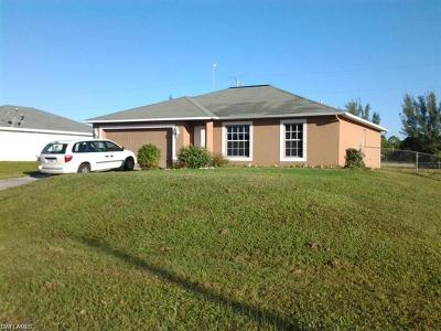 Cape Coral FL Single Family Home For Sale: $154,900