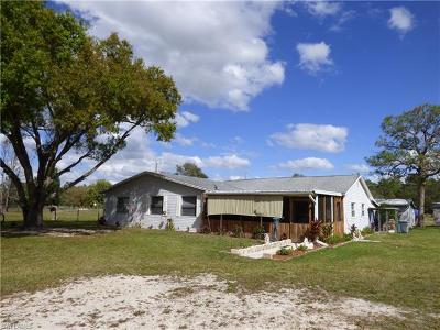 North Fort Myers Single Family Home For Sale: 19550/554 Honey Bear Ln