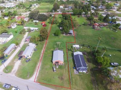 Clewiston FL Single Family Home For Sale: $160,000
