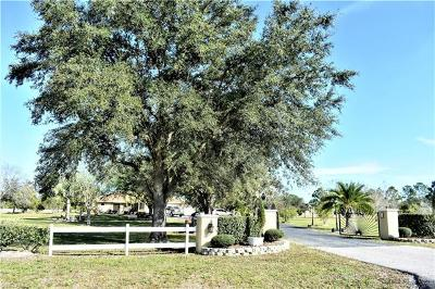 Punta Gorda Single Family Home For Sale: 3640 Hidden Valley Cir