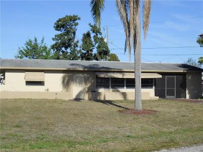 Lehigh Acres FL Single Family Home For Sale: $109,900