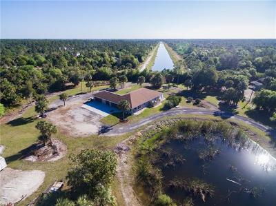 Fort Myers Single Family Home For Sale: 5101 Obannon Rd