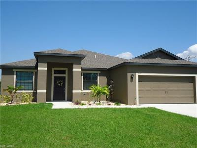 Cape Coral Single Family Home For Sale: 709 SW 12th Ter