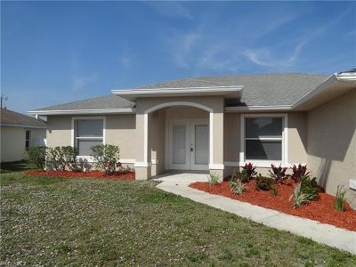 Cape Coral Single Family Home For Sale: 2107 SW 30th Ter