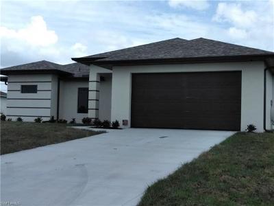Cape Coral FL Single Family Home For Sale: $239,000