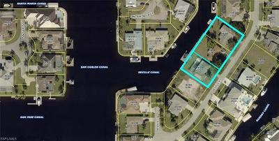 Cape Coral Residential Lots & Land For Sale: 4956, 4952, 4948 Seville Ct
