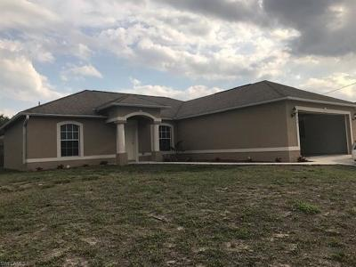 Lehigh Acres Single Family Home For Sale: 3403 16th St W