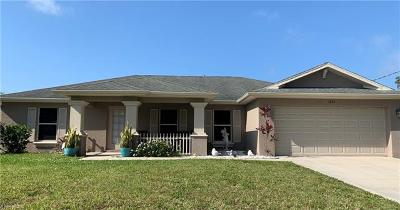 Cape Coral Single Family Home For Sale: 1222 NW 20th Pl