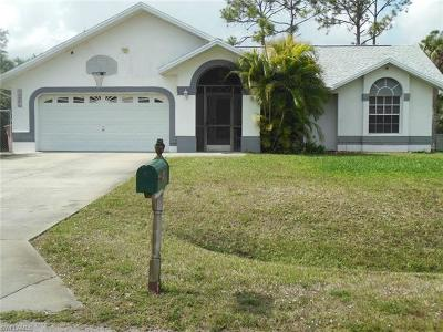 Lehigh Acres Single Family Home For Sale: 411 Clayton Ave
