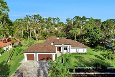 Fort Myers Single Family Home For Sale: 13543 Pine Villa Ln