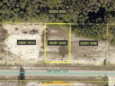 Cape Coral Residential Lots & Land For Sale: 4011 NW 22nd Ter