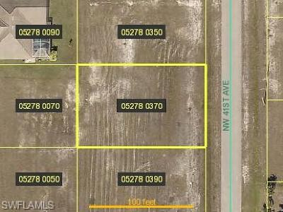 Cape Coral Residential Lots & Land For Sale: 2030 NW 41st Ave