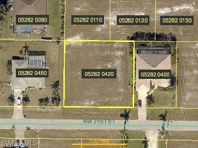Cape Coral Residential Lots & Land For Sale: 4319 NW 21st St