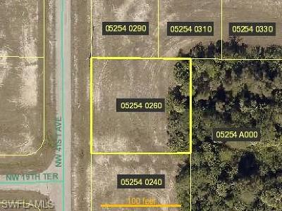 Cape Coral Residential Lots & Land For Sale: 1921 NW 41st Ave