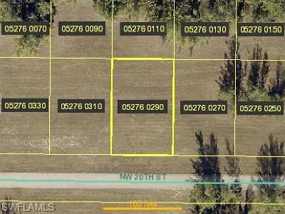 Cape Coral Residential Lots & Land For Sale: 4317 NW 20th St