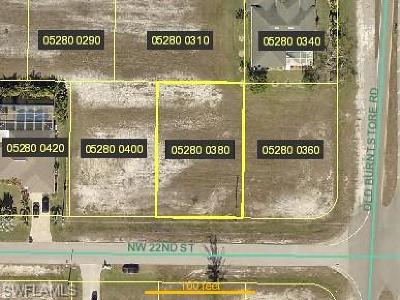 Cape Coral Residential Lots & Land For Sale: 4005 NW 22nd St