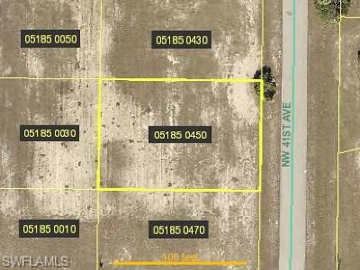 Cape Coral Residential Lots & Land For Sale: 2742 NW 41st Ave
